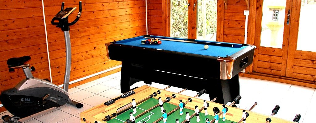 Villa Carpe Diem Views Games Room